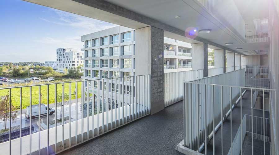 Schoonmaak appartementencomplexen